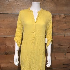 FOREVER21 Womans Yellow Dress SZ.S